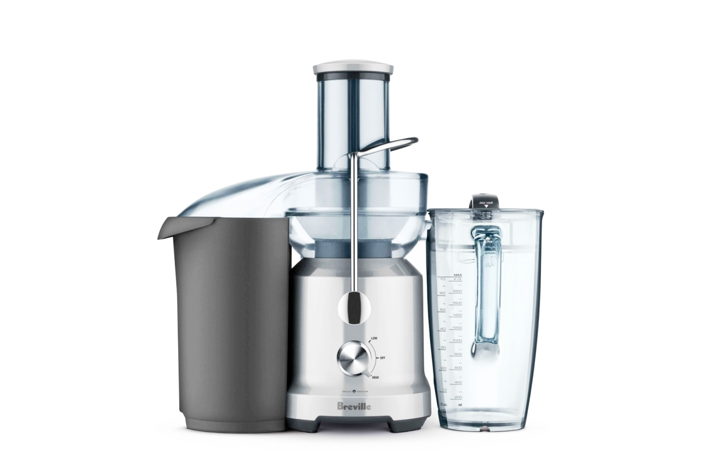 The Juice Fountain Cold | Breville BJE430SIL Review • HeartyBlends.co