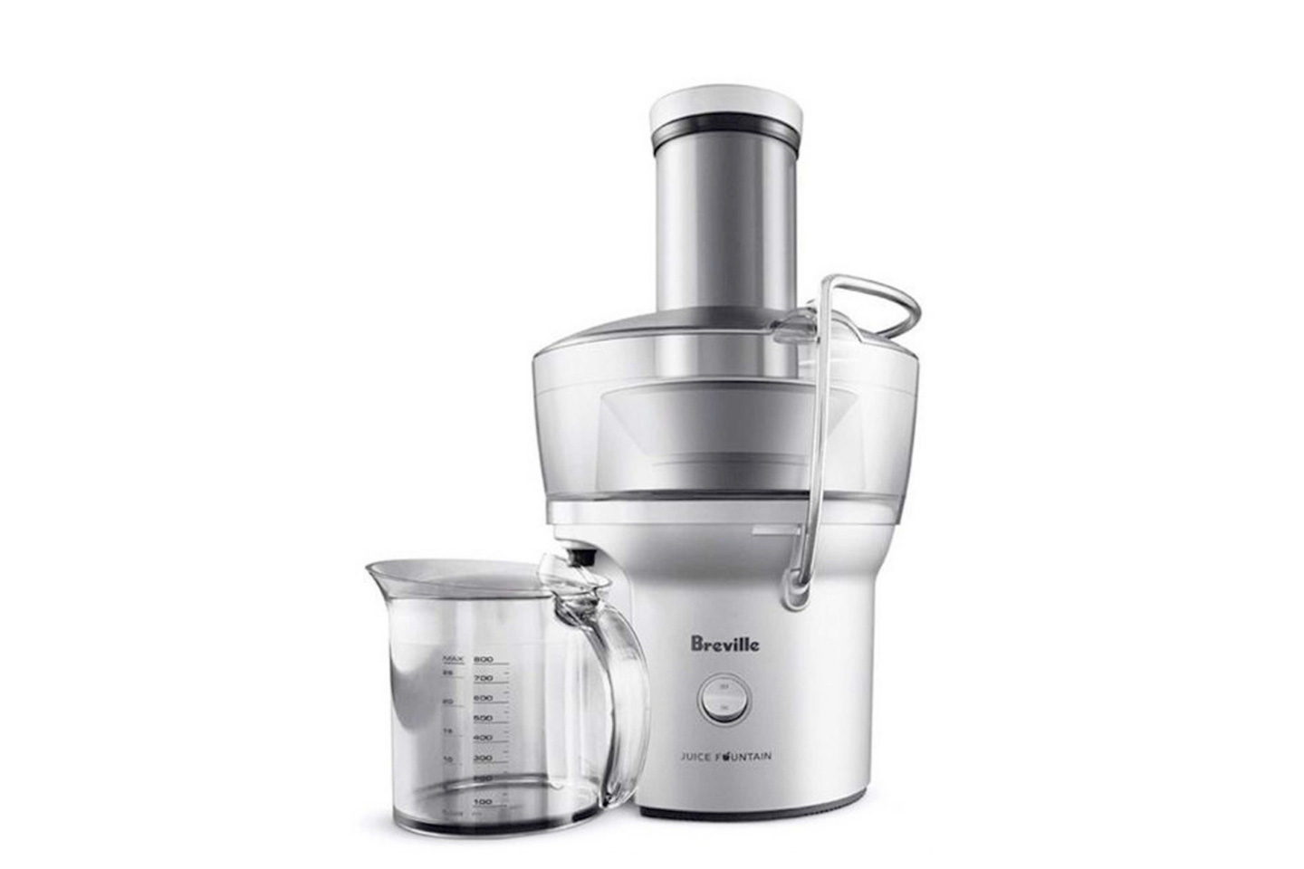 The Juice Fountain Compact | Breville BJE200XL Review • HeartyBlends.co