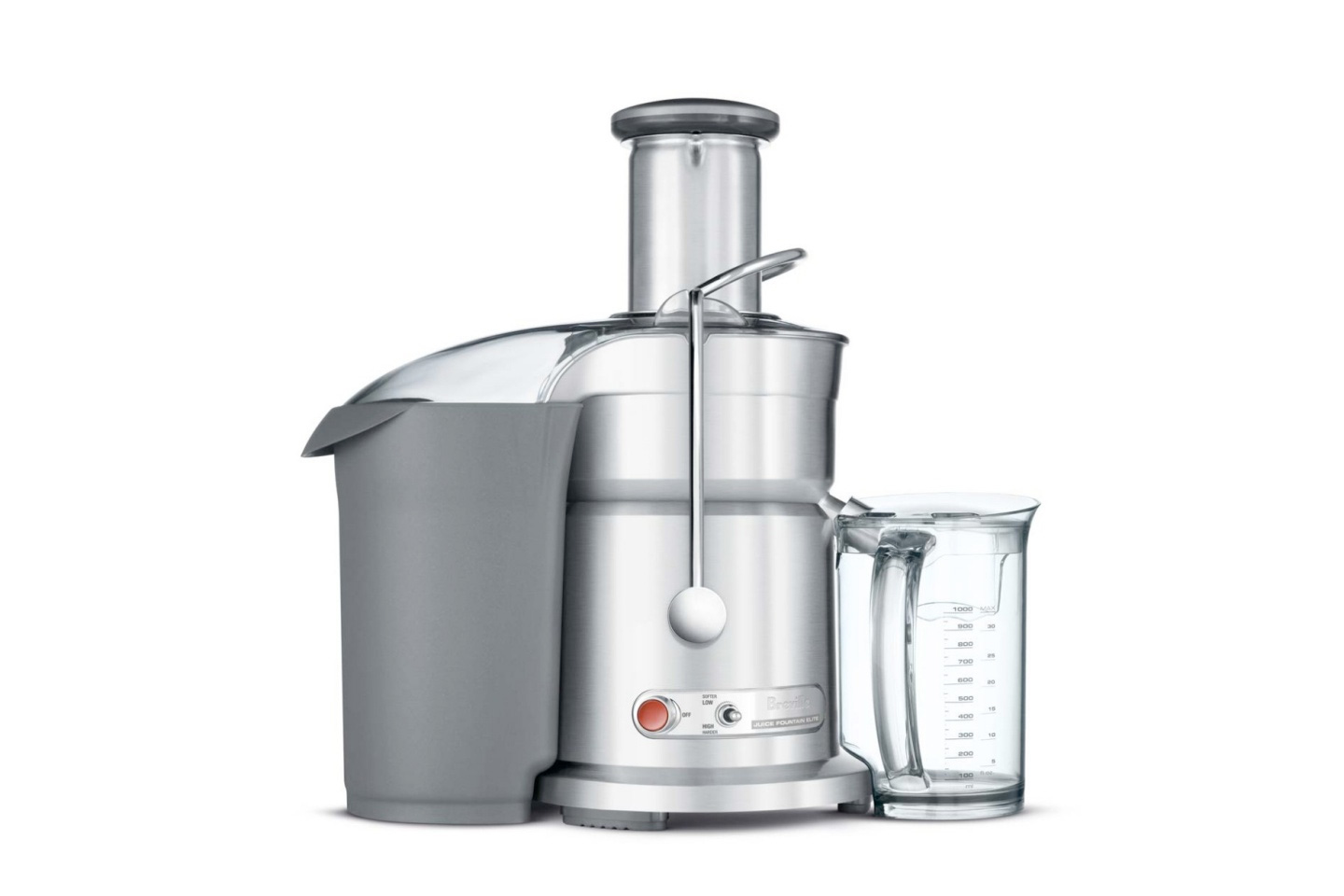The Juice Fountain Elite | Breville 800JEXL Review • HeartyBlends.co