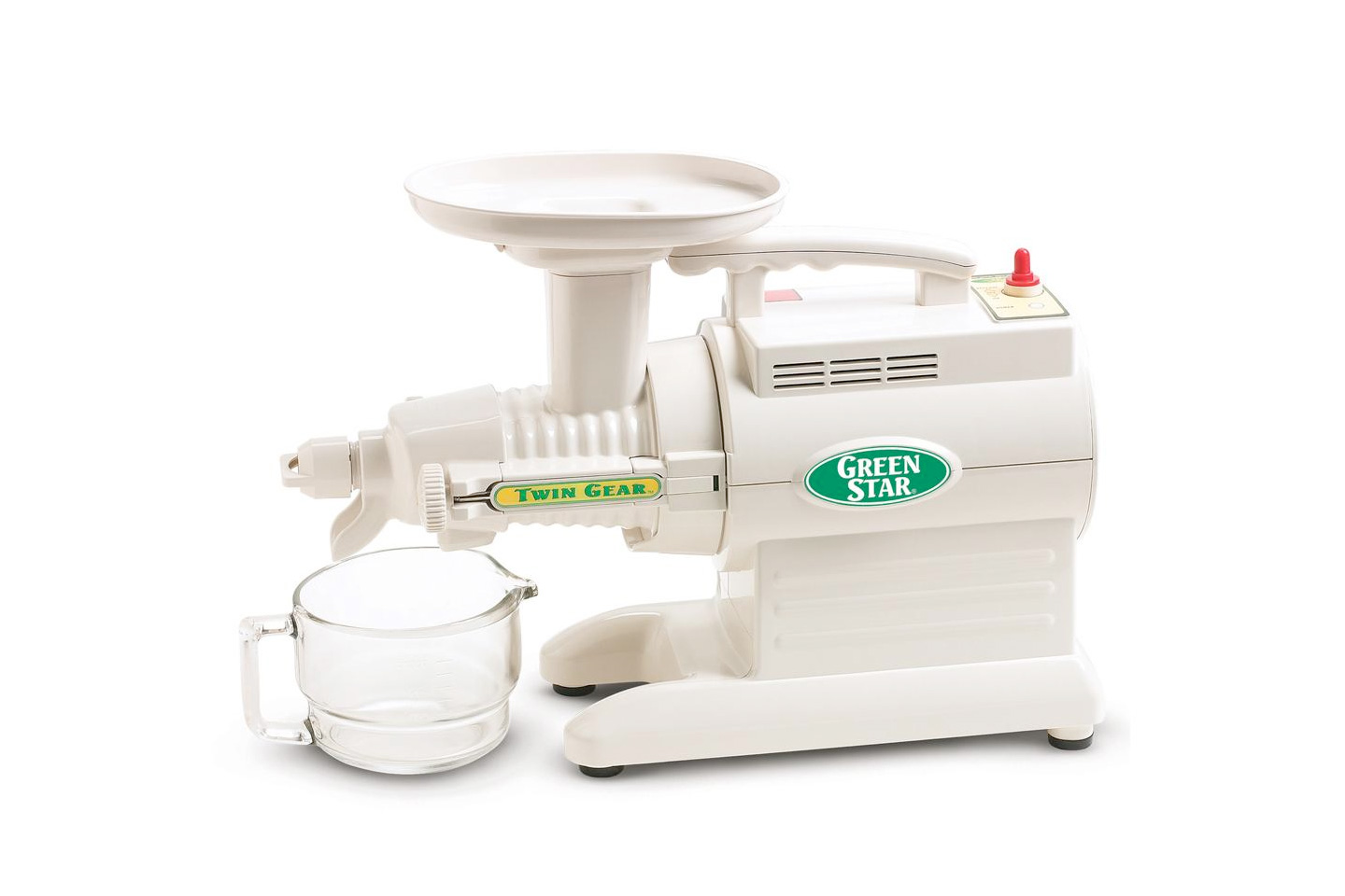 Tribest GreenStar GS Series Twin Gear Juicer Review | HeartyBlends.co