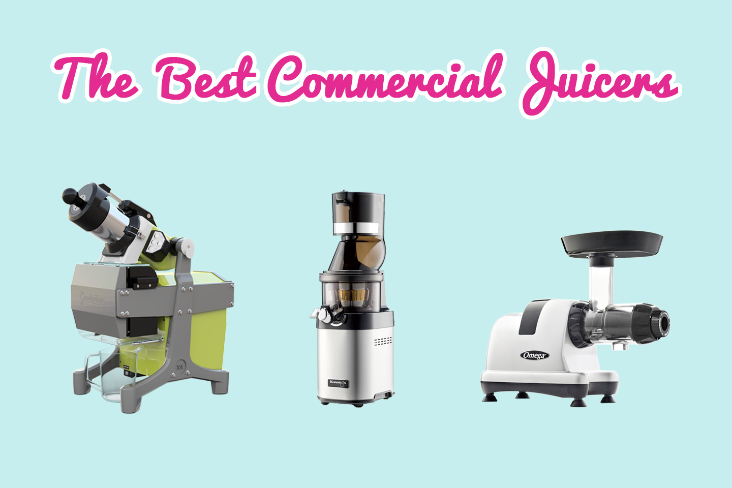 The Best Commercial Juicers of 2019 | Hearty Blends